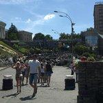 Шины на Майдане