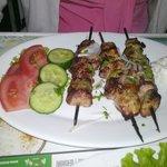 Gli spiedini di Shish Kebab. Boni!!!!