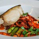 Line Caught Cod with Suffolk Chorizo