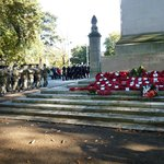 Watts Hymn sung at The Cenotaph in the park
