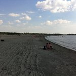 Stranda ved campingplassen