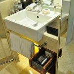 good bathroom amenities