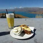 Food with a view!