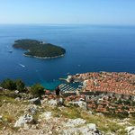 View of Dubrovnik with Cable car