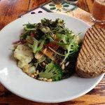 oganic chicken salad yummy!