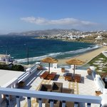 View of Mykonos Town From Room