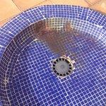 Ducha de piscina