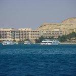 view from catamaran