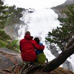 Nyastolfossen waterfall
