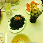 Seaweed, hot sour soup