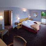 la chambre n°  1 ....avec terrasse ..