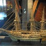 One of the impressive older model ships