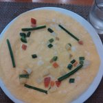 scrambled egg with vegetables