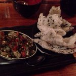 King fish with rice cracker