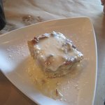 pina colada bread pudding, Kruse and Muer on Wilshire, Troy, MI, July 2014