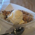 blueberry cobbler a la mode, Kruse and Muer on Wilshire, Troy, MI, July 2014