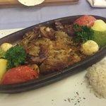 steak and lamb kebab at Stella!