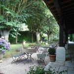 """gardens at """"Le Donjon"""""""