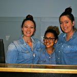 friendly staff, happy to have their photo taken for Trip Advisor!