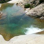 cascate di Purcaraccia il torrente le ha scavate nel granito