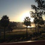 Ausblick auf den Golfplatz vom Zimmer