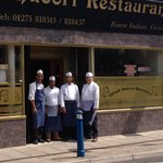 Four chefs of Ghandi