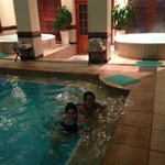 Heated pool and jacuzzis