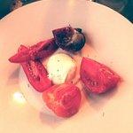 Mozzarella di  Buffala et ses tomates anciennes