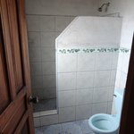 Decent private bathroom with hot water!