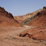 On the road back to Marrakech from high Atlas