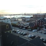 View of Newport Harbor and adjacent wharfs