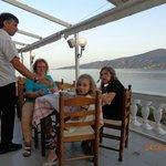 Вид из ресторана на море
