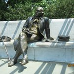 the great man in repose
