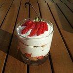 Tiramisu fraises gariguette et vanille bourbon