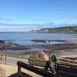 Sunny day in Runswick bay