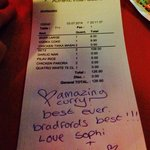 I was so thrilled with this place a I wrote a small note of thanks on my bill! Worth every penny