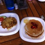 pancakes and hashbrowns