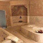 the amazing bathroom!