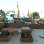 Suite 55 terrace and loungers (4 loungers, 2 chairs, 2 umbrellas!)