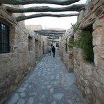 cobblestone hallways