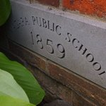 First public schoolhouse