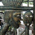 Detail metal gate... Haitian art
