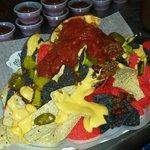 4th of July nachos!!!