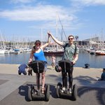 Enjoying our Segway Glides tour!