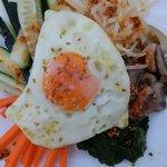 Korean food for dinner