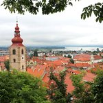 View of Ptuj from Castle