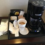 In room Kona coffee