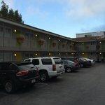 parking et accès aux chambres