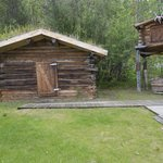 Jack London cabin and cache