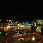 Ночной вид с балкона